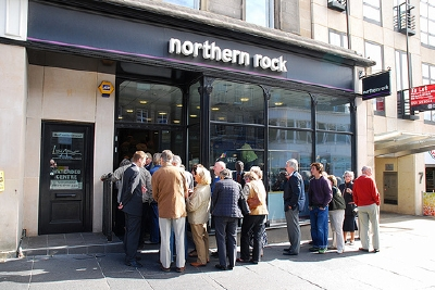 Thoughts on a very British banking crisis at Northern Rock