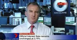 Macquarie banker caught admiring Miranda Kerr on live TV