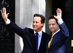 Cameron and Clegg's new coalition