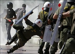 Greek crisis turns to riots