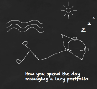Life's a beach with a lazy portfolio