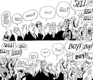 Visualizing investors' emotions
