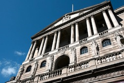 Gilts were originally issued by the Bank of England. Now it mainly buys them!