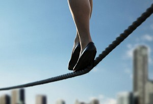 Subscription shares are a balance act (like walking a tightrope!)