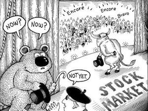 Bull markets are followed by bear markets which, crucially, are followed again by bull markets.