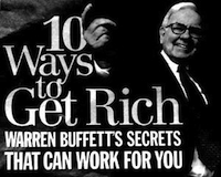 There's lots of advice on how Warren Buffett got rich