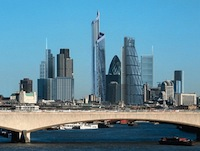 The future City of London skyline: New skyscrapers abound