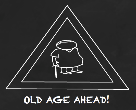 Saving into a cheap pension means you can look forward to old age.