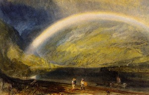 There will always be financial clouds, but don't lose site of the rainbow.
