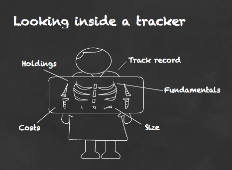 Looking inside an index tracker