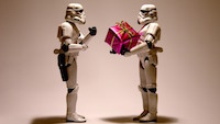 Star Wars gift giving
