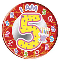 Five-year old badge: Our demo HYP is now five years old.