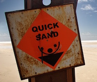 High inflation and low interest rates are like quicksand for real returns.