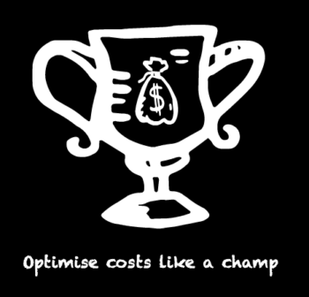 A champions cup representing that this is the ultimate stocks and shares ISA cost hack