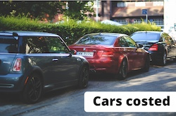 Photo of non electric cars, to contrast with electric car ownership.
